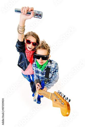 Poster rock stars