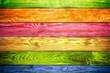vintage colorful wood