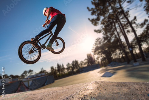 Wysoki skok BMX