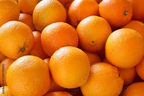 Foto Murales Orange fruit. Background.