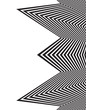 optical art opart striped wavy background abstract waves black a