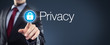 Quadro Man touching Privacy
