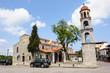 Obrazy na płótnie, fototapety, zdjęcia, fotoobrazy drukowane : Litochoro, Greece, central square