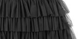 Part of black dress