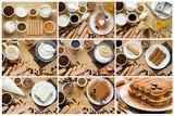 Fototapety Recipe step by step tiramisu