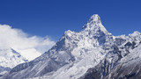 Mount Ama Dablam in the Nepal Himalaya