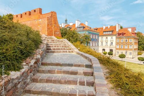 Fototapeta Warsaw. Old city.