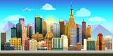 Fototapety City Game Background