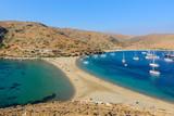 Kolona double sided beach at Kythnos - 107485096