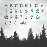 Hipster Alphabet - 107489013