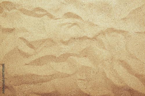 Obraz na płótnie Piasek tekstury widok z góry, światła gradientu