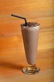 chocolate milkshake drink