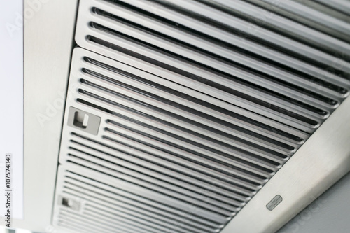 clean stainless cook hood air duct grill Plakát