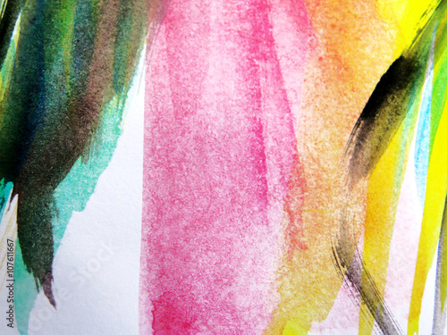 Abstract watercolor - 107611667