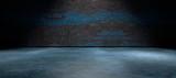 Fondo abstracto,suelo de cemento y pared de la calle en la oscuridad. hormigon