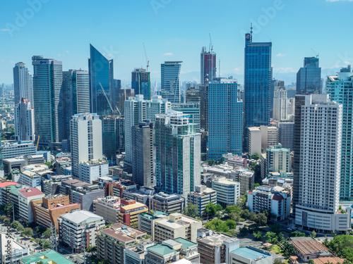 Apr 9,2016 Manila skyline view Philippines © bugking88