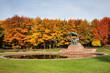 Autumn at Royal Lazienki Park in Warsaw - 107641253