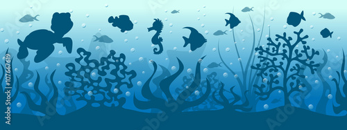 podwodny-swiat,-tapeta,-plakat,-bajki