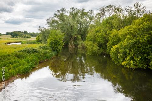 Poster River Frome Holmebridge Dorset