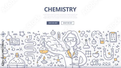 Chemistry Doodle Concept
