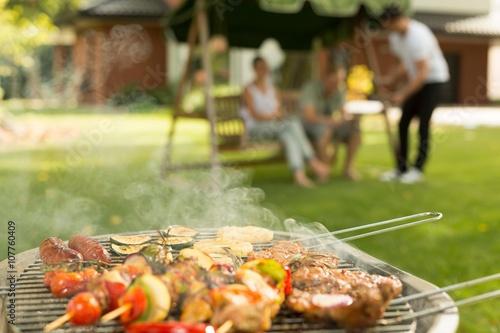 Zdjęcia na płótnie, fototapety, obrazy : Delicious food on the grill