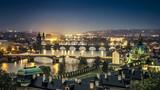 Prague at night - 107770099