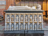 Sarcophagus of Queen Margaret I in Roskilde Cathedral, Denmark