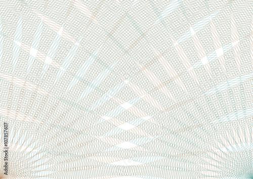 Guilloche vector background grid