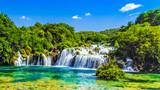 Waterfalls Krka, Croatia - 107893033