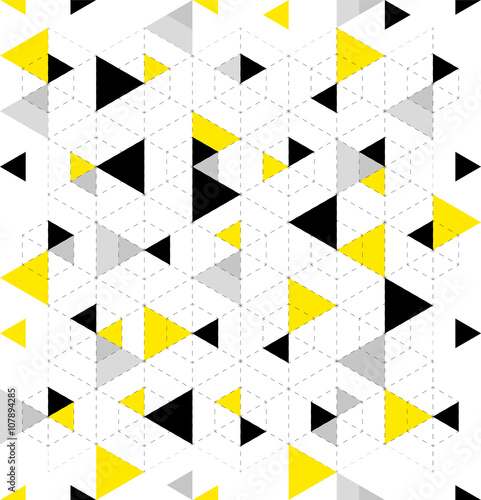 Geometric Pattern Background - 107894285