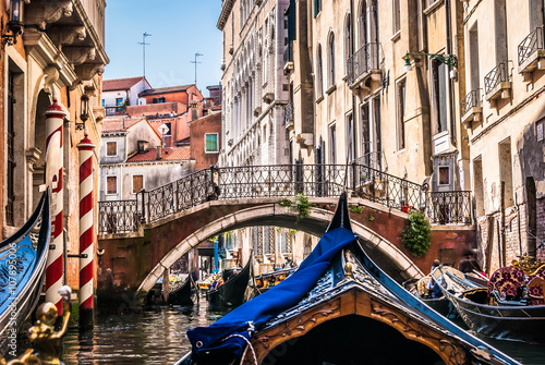 All about gondolas, Venice