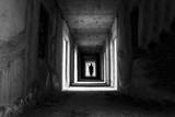 Fototapety Danger horrible of abandoned buildings image of conceptual