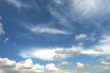 beautiful spring sky