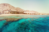 Fototapety Red Sea with Coral Reefs