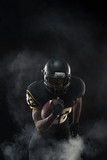 African American Football Player