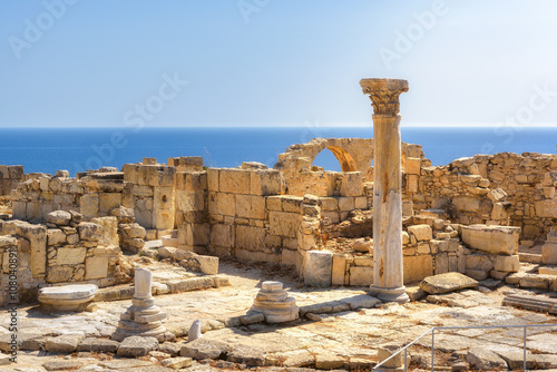 Staande foto Cyprus Cyprus. Limassol District. Ruins of ancient Kourion
