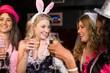 Obrazy na płótnie, fototapety, zdjęcia, fotoobrazy drukowane : Friends celebrating bachelorette party