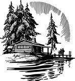 Beautiful Cabin By A Lake - 108098034