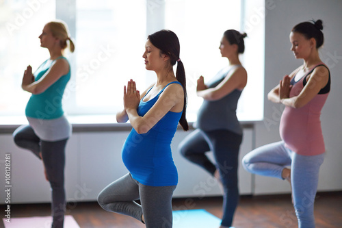Yoga with future baby