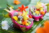 Fototapety Exotic fruit salad