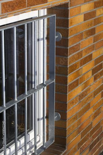 Poster Gitter Fenstergitter
