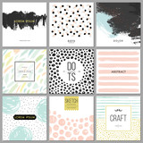 Fototapety Abstract Hand Drawn Backgrounds