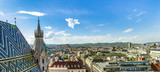 Aerial View Of Vienna City Skyline