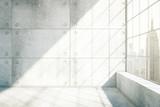 Fototapety Concrete interior New York