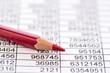 Leinwanddruck Bild - Statistik und Tabellen