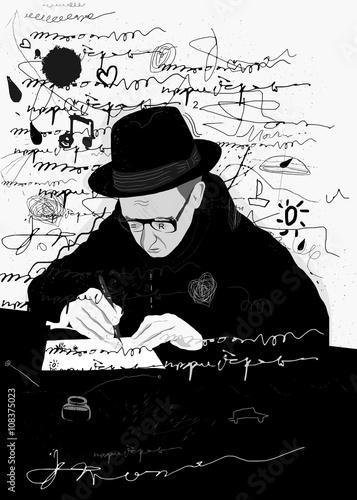 Писатель © moypapaboris
