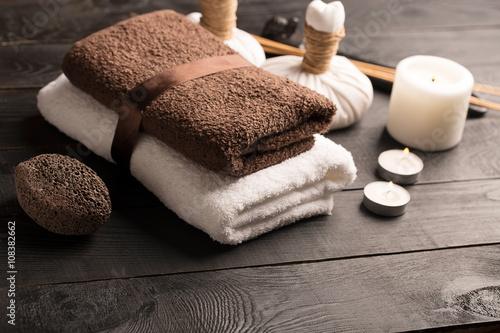 Papiers peints Spa SPA still life with towel