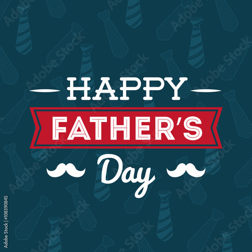 illustration of Happy fathers day