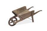 A Vintage Wooden Wheel Barrow - 108406464