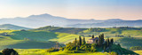 Beautiful spring landscape in Tuscany, Italy - 108414020
